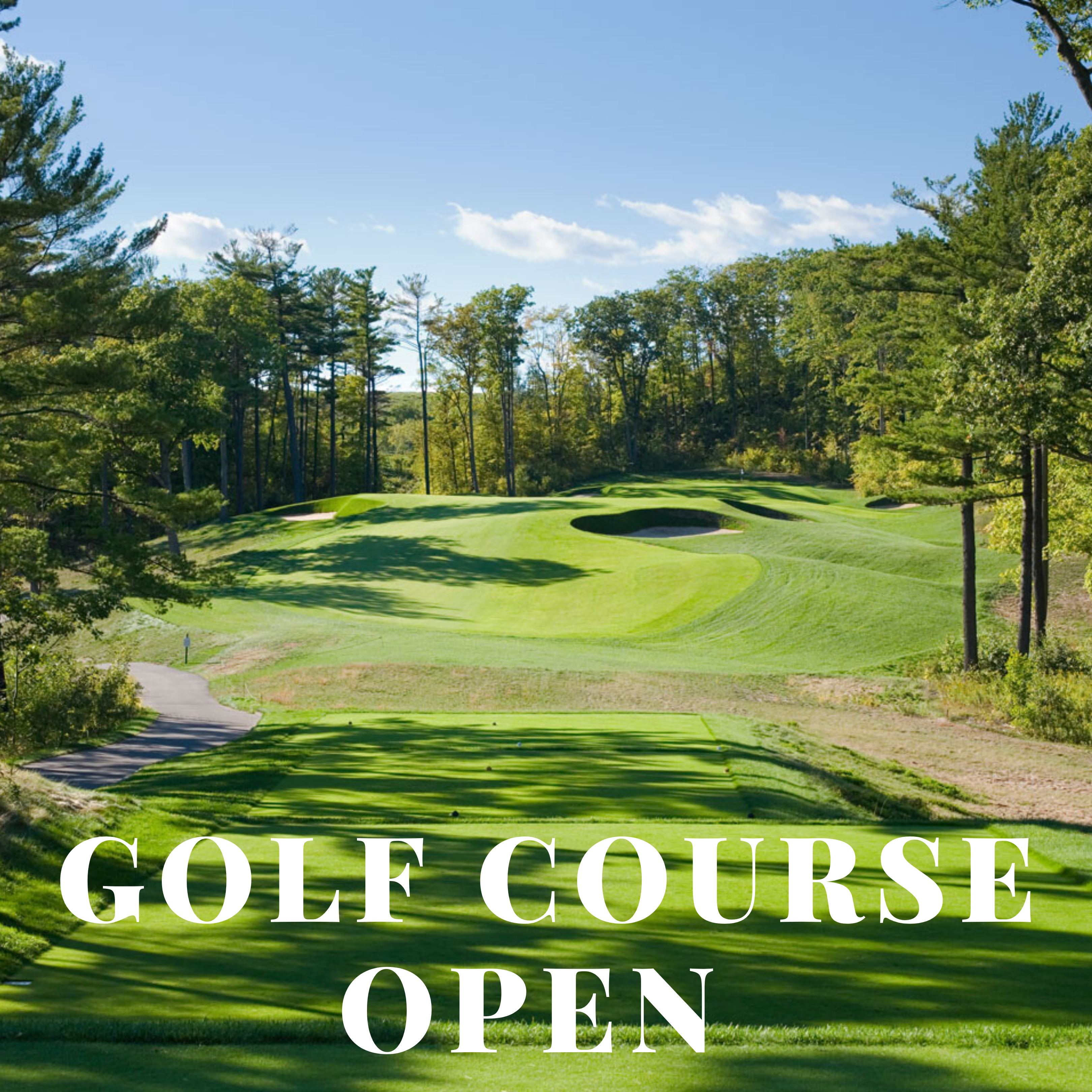 Golf Course Open May 20, 2020